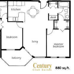 Century Club Floor Plans – Langley BC