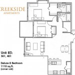 Creekside Apartments Floor Plans